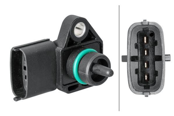 6PP 358 152-031 HELLA Sensor, Ladedruck 6PP 358 152-031 günstig kaufen
