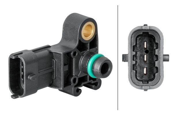 6PP 358 152-051 HELLA Sensor, Ladedruck 6PP 358 152-051 günstig kaufen