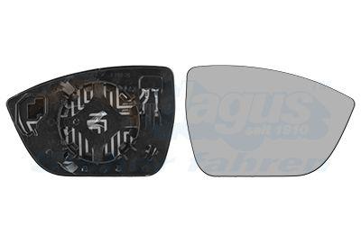 SEAT ATECA 2016 Spiegelglas Außenspiegel - Original VAN WEZEL 4907838