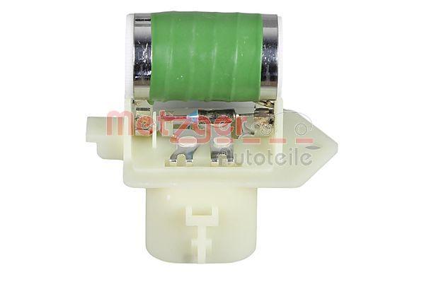 Resistenza ventola abitacolo 0917354 con un ottimo rapporto METZGER qualità/prezzo