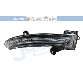 Comprare 61 20 38-95 JOHNS Dx, Specchio esterno, senza calotta/coperchio Tipo lampada: LED Indicatore direzione 61 20 38-95 poco costoso