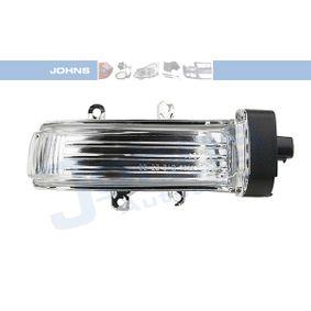 Comprare 81 43 38-95 JOHNS bianco, Dx, Specchio esterno Tipo lampada: LED Indicatore direzione 81 43 38-95 poco costoso