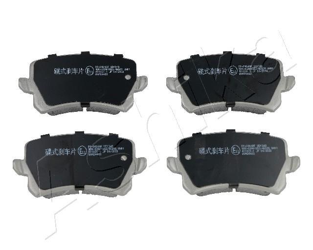 ASHIKA Brake Pad Set, disc brake 51-00-0904