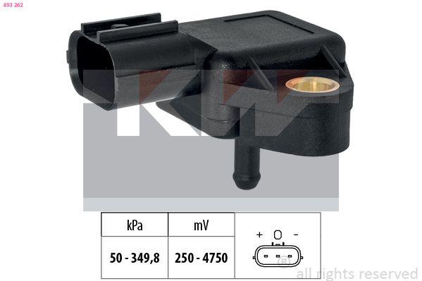 Sensor Ladedruck KW 493 262