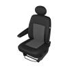 5-1670-233-4015 Sedežne prevleke crna barva, grafit, Poliester, PU (Polyurethan), spredaj od KEGEL po nizkih cenah - kupite zdaj!