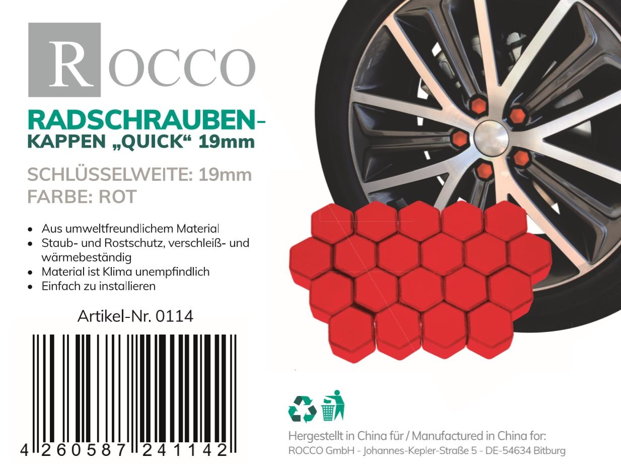 OE Original Radschrauben und Radmuttern 0114 ROCCO