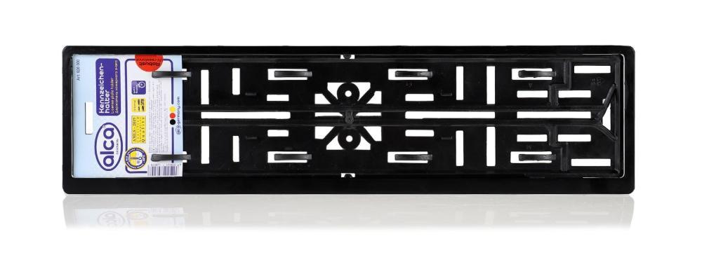 Comprare 828000 ALCA nero, resistente-UV Supporti per targhe auto 828000 poco costoso