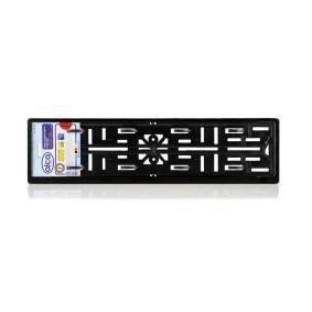 828000 ALCA schwarz, UV-beständig Kennzeichenhalter 828000 günstig kaufen