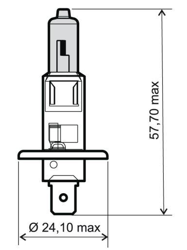 OE Original Fernscheinwerfer Glühlampe 24 651 0035 RMS