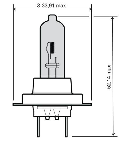 OE Original Fernscheinwerfer Glühlampe 24 651 0110 RMS