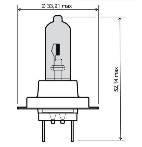 24 651 0115 RMS H7 12V 55W Glühlampe, Fernscheinwerfer 24 651 0115 günstig kaufen