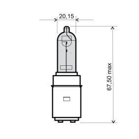 246510356 Glödlampa, fjärrstrålkastare RMS 24 651 0356 Stor urvalssektion — enorma rabatter