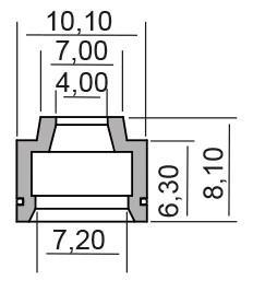 RMS Tarpiklių komplektas, vožtuvo šerdis 10 066 9250 SUZUKI