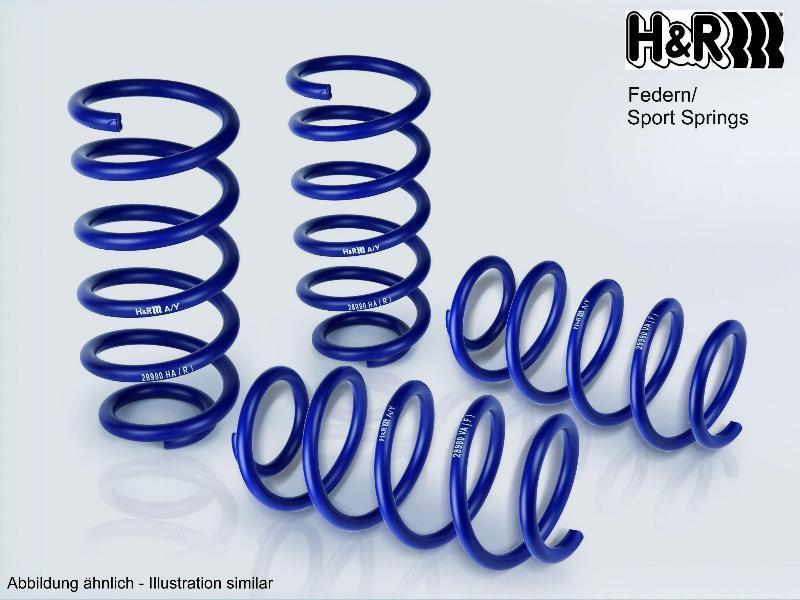 H&R   Fahrwerksfeder 29864HA1