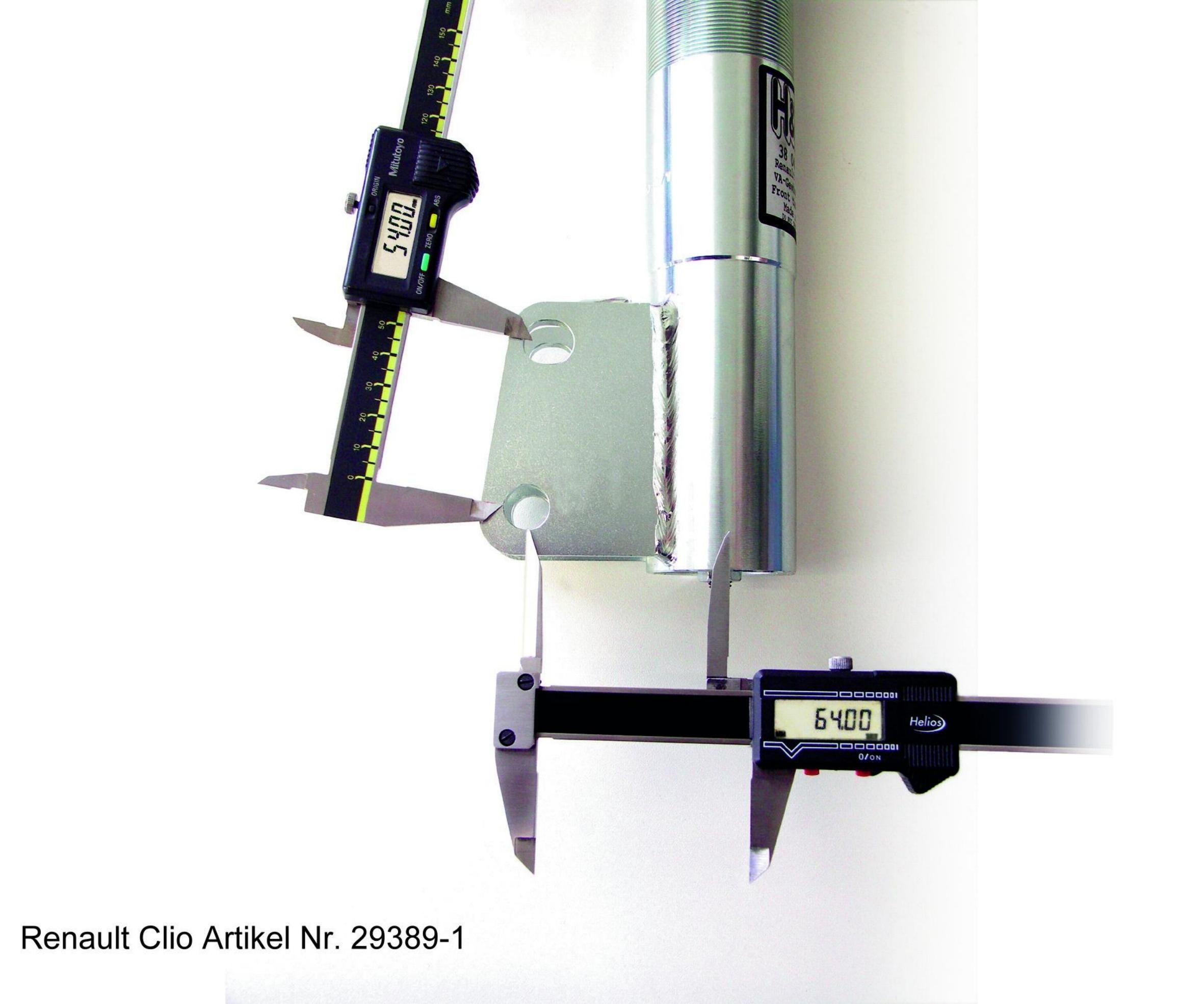 H&R   Stoßdämpfer Komplettsatz mit Federn 29389-1