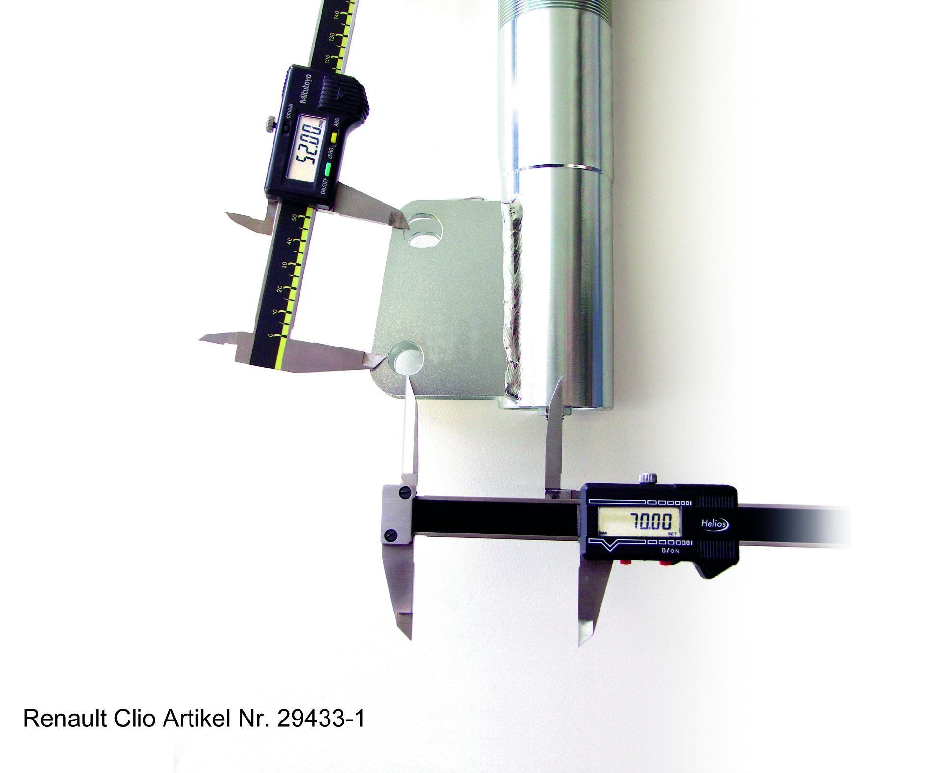 H&R | Stoßdämpfer Komplettsatz mit Federn 29433-1