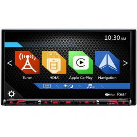 NX807E CLARION med fjärrkontroll, 800х480, USB, HDMI, AUX in, RCA, 6.95tum, 2 DIN, DVD/CD, Apple CarPlay, Bluetooth, Made for iPod/iPhone, 25W, 4x50W TFT, Bluetooth: Ja Multimediamottagare NX807E köp lågt pris