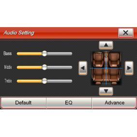 VN720VW Multimediamottagare ESX originalkvalite