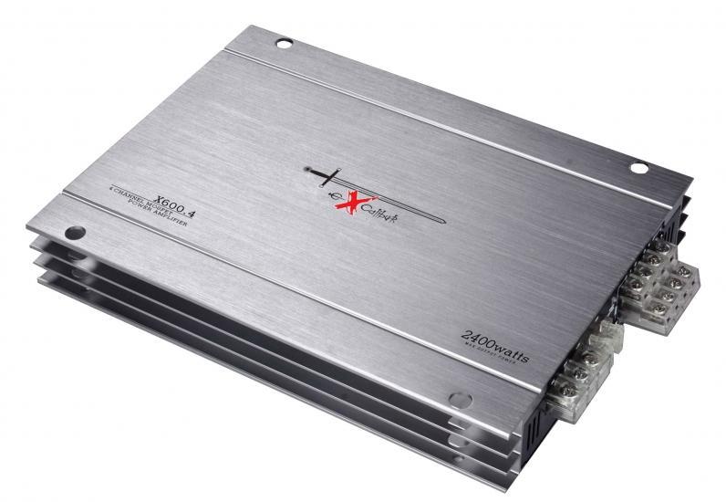 X600.4 EXCALIBUR 20-20000Hz, 2400W, Mosfet Audioförstärkare X600.4 köp lågt pris