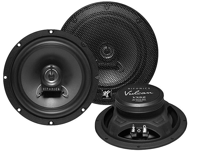 Купете VX62 HIFONICS Vulcan Ø: 165мм, със защитна решетка, 6.5цол (инч), мощност: 180ват единица-мярка за количество: чифт Говорители VX62 евтино