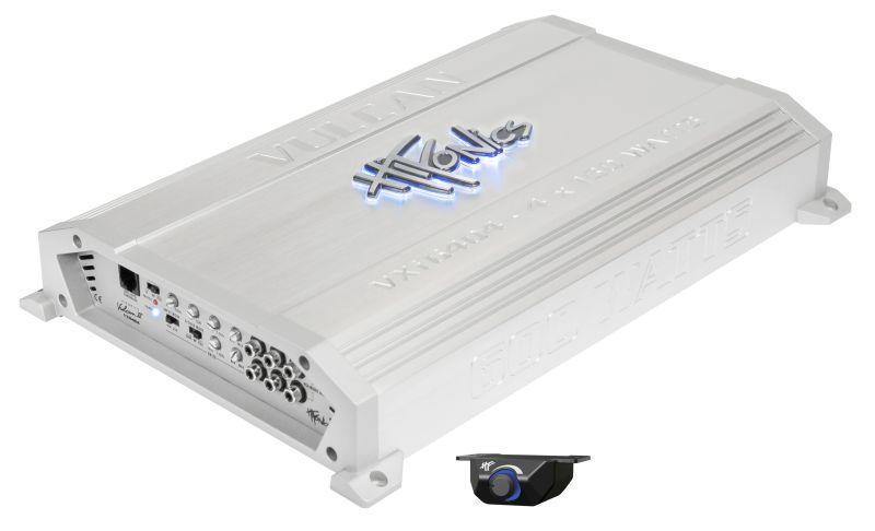 VXI6404 HIFONICS Vulcan A/B, med fjärrkontroll, High(10-1200), Low(30-250)Hz, 1200W, (45 Hz), Bassboost 0-12dB Audioförstärkare VXI6404 köp lågt pris