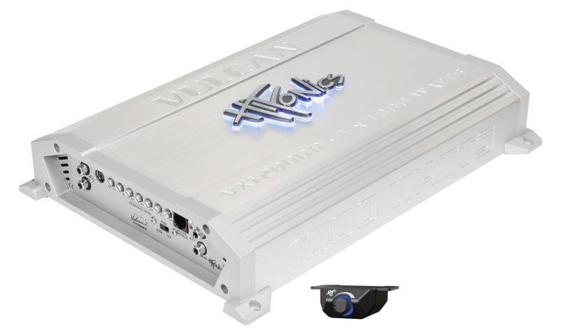 VXI2000D HIFONICS Vulcan D, med fjärrkontroll, Low(35-250), Subsonic(15-55)Hz, 2000W, (20-80 Hz), Sub Boost 0-18dB Audioförstärkare VXI2000D köp lågt pris
