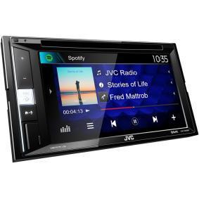 KW-V250BT JVC 800х480, RCA, AUX in, USB, 6.2tum, 2 DIN, Bluetooth, DVD/CD/USB, Spotify, Made for iPhone/iPod, 50x4W TFT, Bluetooth: Ja Multimediamottagare KW-V250BT köp lågt pris