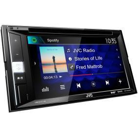 KW-V255DBT JVC 800х480, USB, RCA, AUX in, 6.2tum, 2 DIN, DVD/CD/USB, Bluetooth, DAB+ tuner, Spotify, Made for iPhone/iPod, 50x4W TFT, Bluetooth: Ja Multimediamottagare KW-V255DBT köp lågt pris