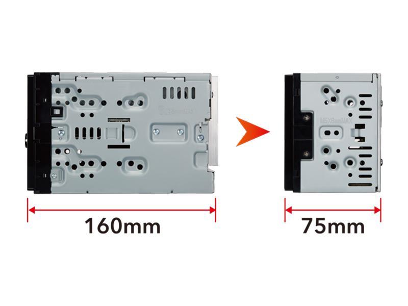 DMX120BT Moniceiver KENWOOD DMX120BT - Große Auswahl - stark reduziert