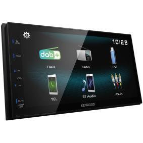 DMX125DAB KENWOOD 800х480, USB, Android USBmirorring, AV, RCA, 6.75tum, 2 DIN, Bluetooth, DAB+ tuner, 50x4W TFT, Bluetooth: Ja Multimediamottagare DMX125DAB köp lågt pris