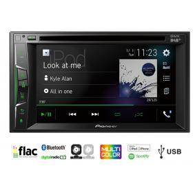 AVH-A3200DAB PIONEER AVH-A3200DAB USB, AUX in, AV, 6.2tum, 2 DIN, DAB/DAB+, WebLink, Bluetooth, Spotify, CD/DVD, Made for iPod/iPhone, Android, 4x50W Bluetooth: Ja Multimediamottagare AVH-A3200DAB köp lågt pris