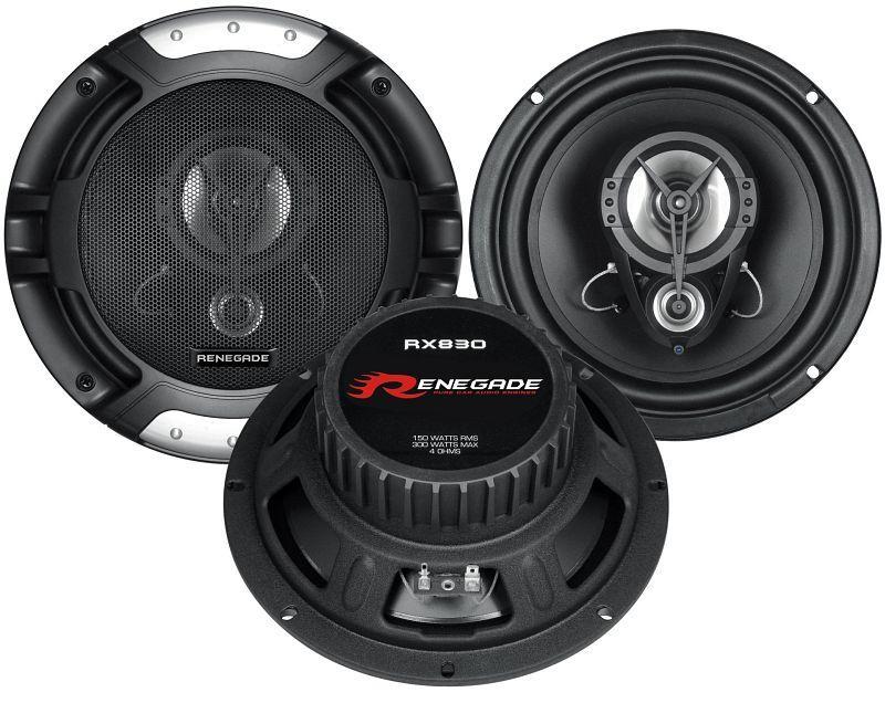 Купете RX830 RENEGADE Ø: 200мм, със защитна решетка, 8цол (инч), мощност: 300ват единица-мярка за количество: чифт Говорители RX830 евтино