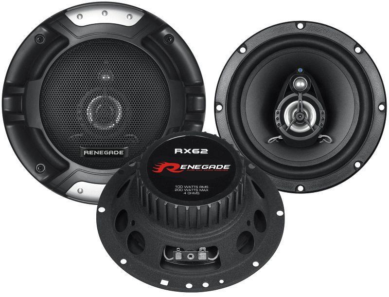 Купете RX62 RENEGADE Ø: 165мм, със защитна решетка, 6.5цол (инч), мощност: 200ват единица-мярка за количество: чифт Говорители RX62 евтино