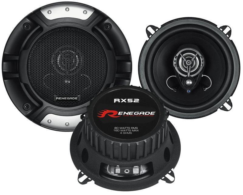 Купете RX52 RENEGADE Ø: 130мм, със защитна решетка, 5.25цол (инч), мощност: 160ват единица-мярка за количество: чифт Говорители RX52 евтино