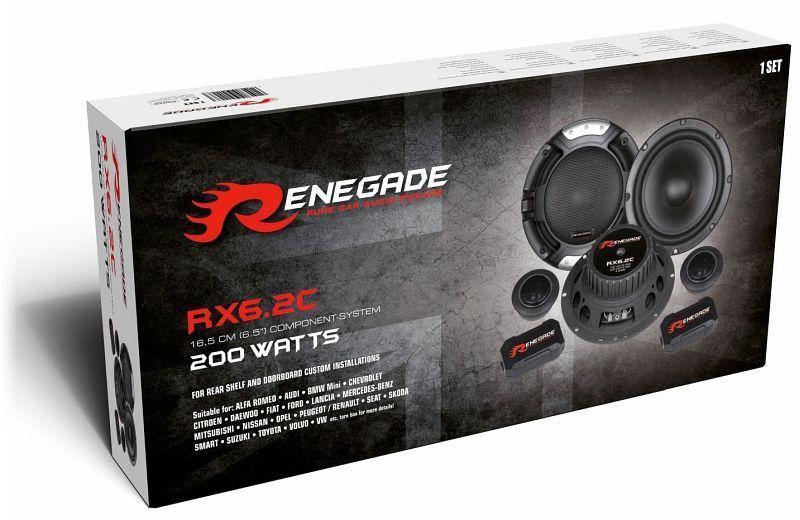 RX6.2C Говорители RENEGADE - опит