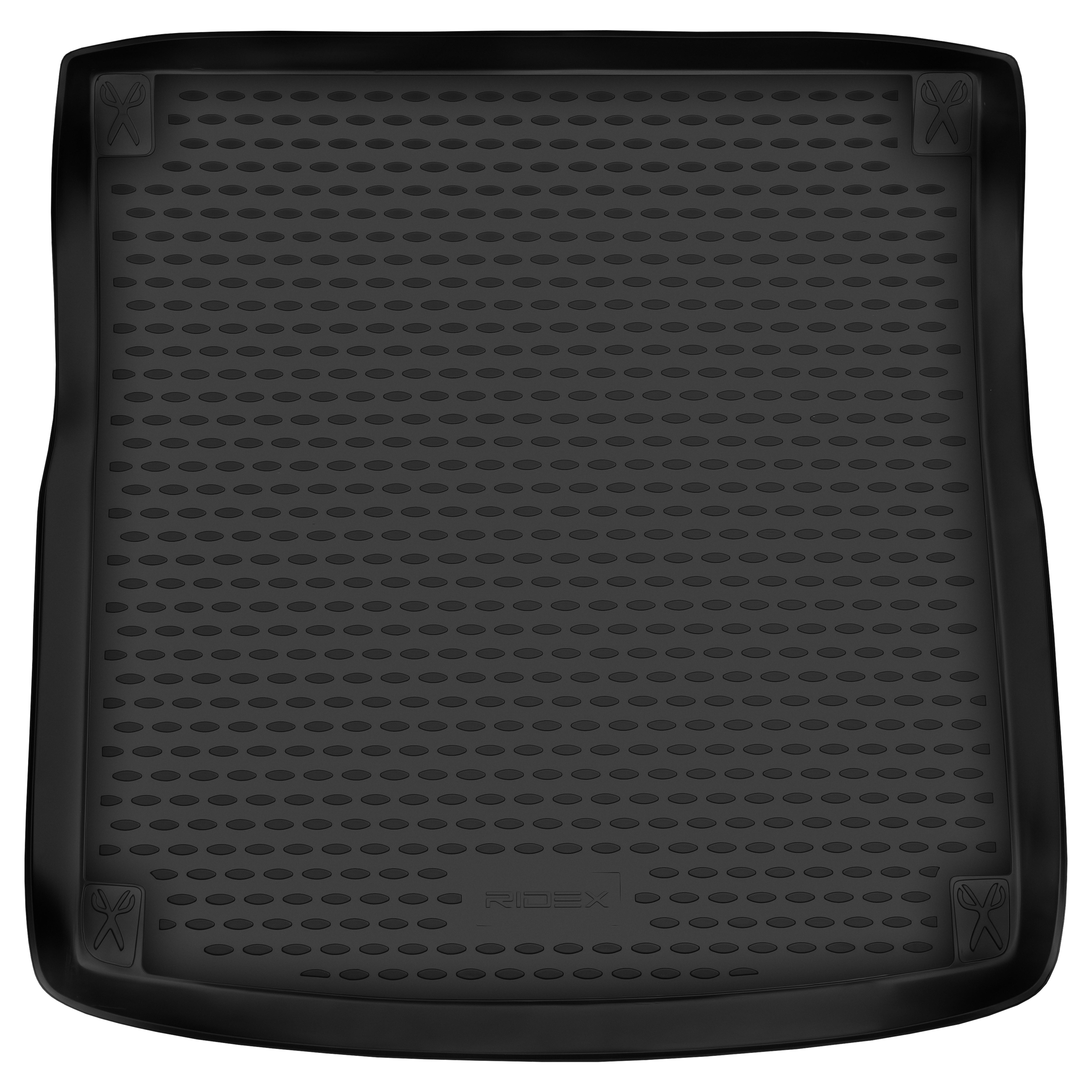 4731A0002 Kofferbakschaal Kofferruimte, Zwart, Rubber van RIDEX tegen lage prijzen – nu kopen!