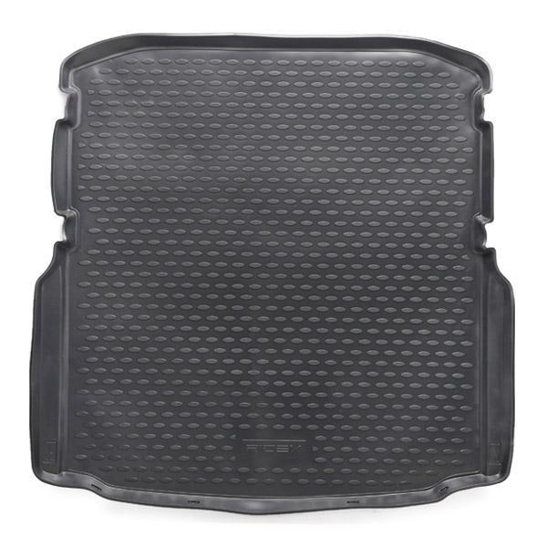 RIDEX 4731A0029 Kofferraumschutzwanne Kofferraum, schwarz, Gummi reduzierte Preise - Jetzt bestellen!