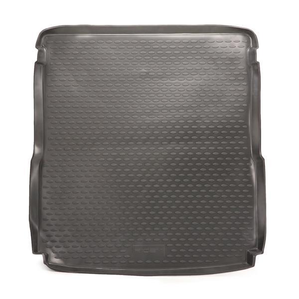 RIDEX 4731A0030 Kofferraumschalenmatte Kofferraum, schwarz, Gummi reduzierte Preise - Jetzt bestellen!