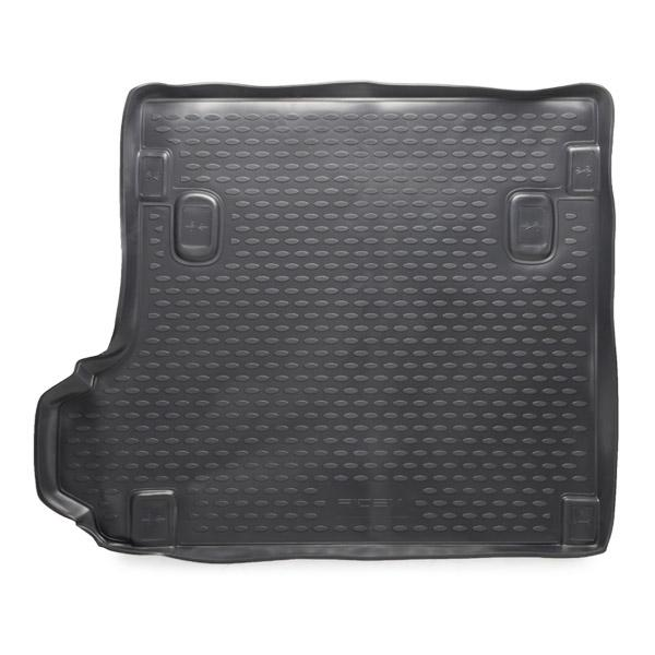 4731A0032 Luggage compartment mat Boot, Black, Elastomer from RIDEX at low prices - buy now!