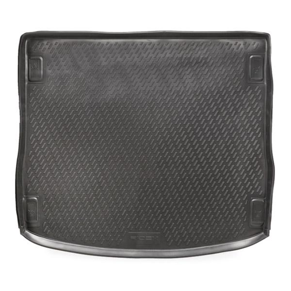 4731A0036 Car boot mats Boot, Black, Elastomer from RIDEX at low prices - buy now!