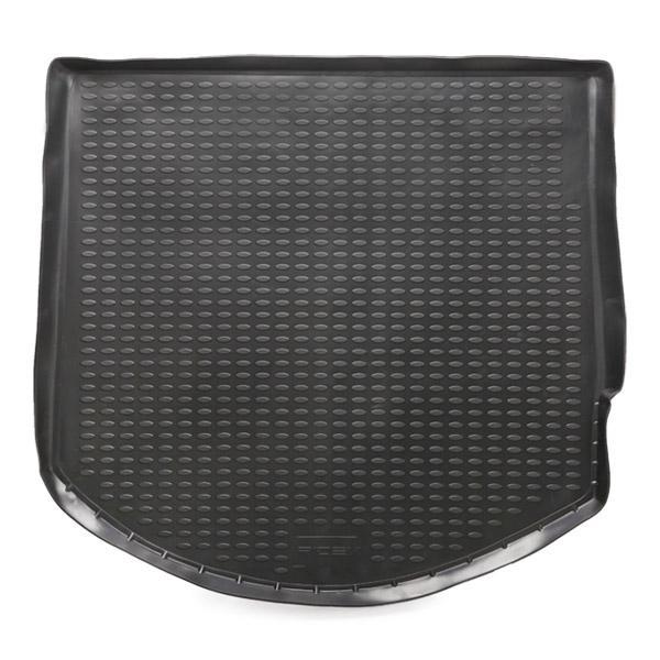 RIDEX 4731A0041 Kofferraummatten Kofferraum, schwarz, Gummi, für Fahrzeuge mit Reserverad im Kofferraum reduzierte Preise - Jetzt bestellen!