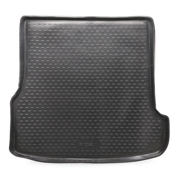 RIDEX 4731A0051 Gepäckraumschale Kofferraum, schwarz, Gummi reduzierte Preise - Jetzt bestellen!