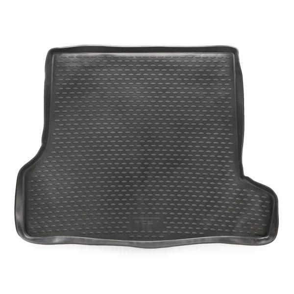 RIDEX 4731A0108 Gepäckraumschale Kofferraum, schwarz, Gummi reduzierte Preise - Jetzt bestellen!