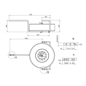 B036005009 Reserveradhalter ALU-SV online kaufen