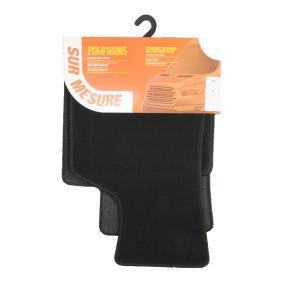 AUD70C CUSTOPOL Textil, vorne und hinten, Menge: 4, schwarz Autofußmatten AUD70C günstig kaufen