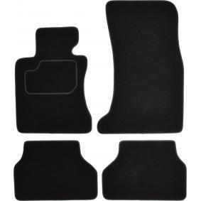 BM160C CUSTOPOL Maßgefertigt Textil, vorne und hinten, Menge: 4, schwarz Autofußmatten BM160C günstig kaufen