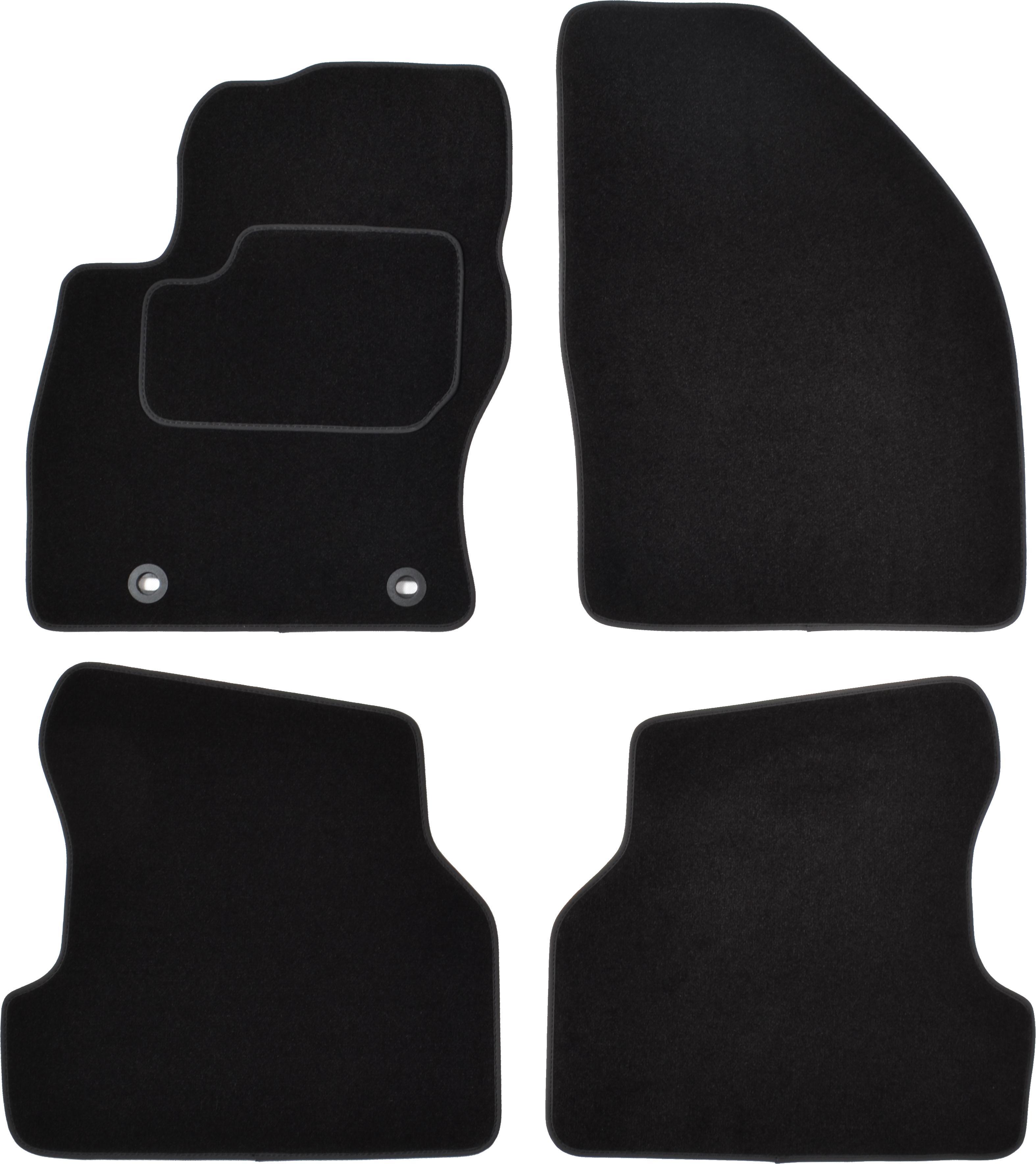CUSTOPOL: Original Passgenaue Fußmatten FOR120C ()