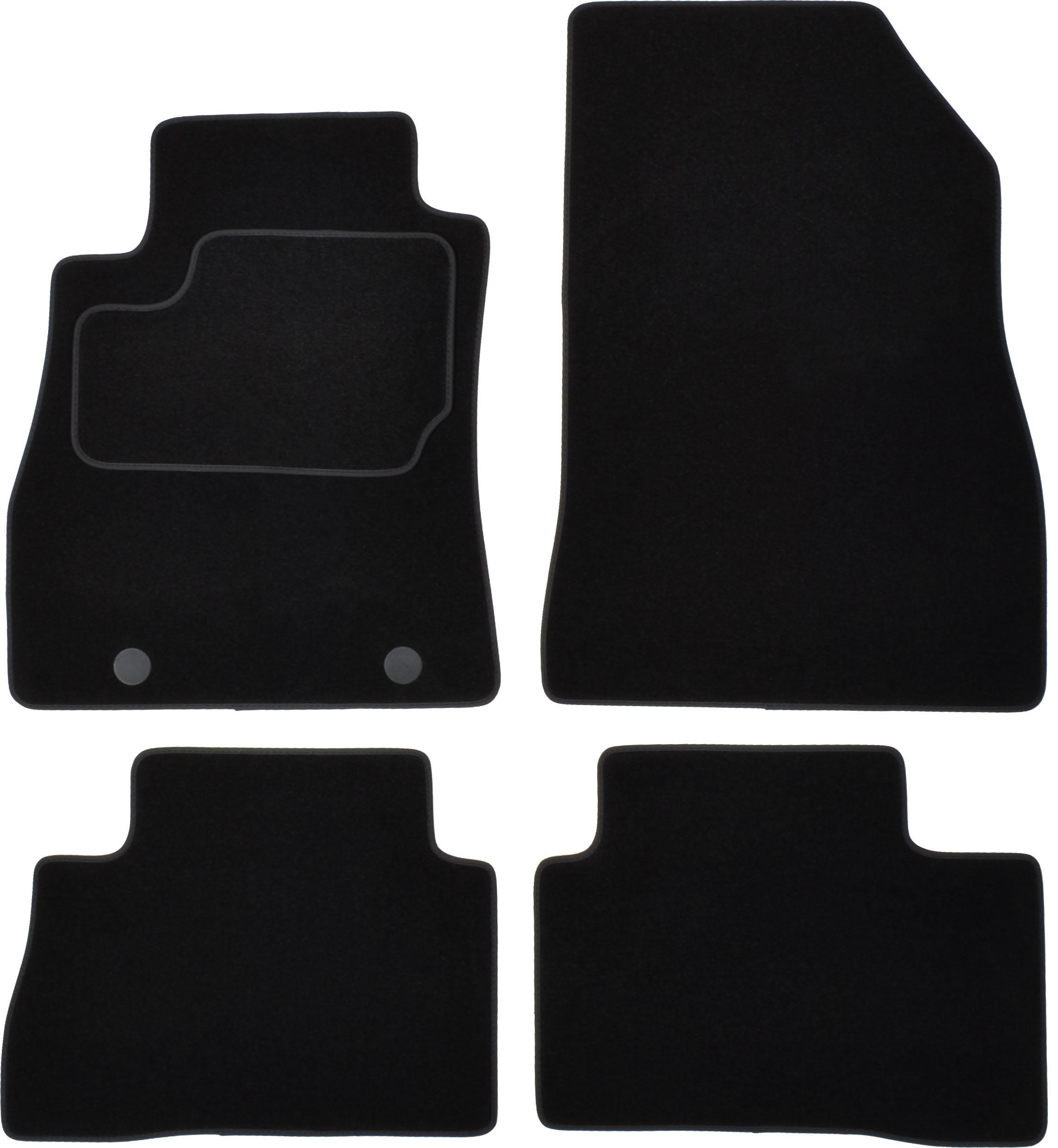 CUSTOPOL: Original Passgenaue Fußmatten NIS65C ()