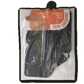 PGT135C CUSTOPOL Maßgefertigt Textil, vorne und hinten, Menge: 4, schwarz Autofußmatten PGT135C günstig kaufen