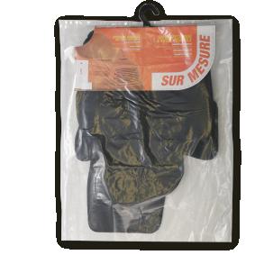 VW190C CUSTOPOL Maßgefertigt Textil, vorne und hinten, Menge: 4, schwarz Autofußmatten VW190C günstig kaufen
